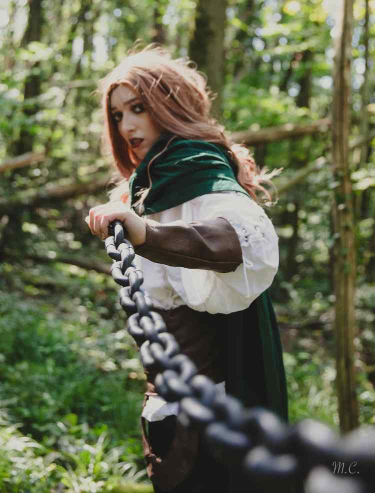 Cosplay de Kin par Aria, photo par Louve des Steppes